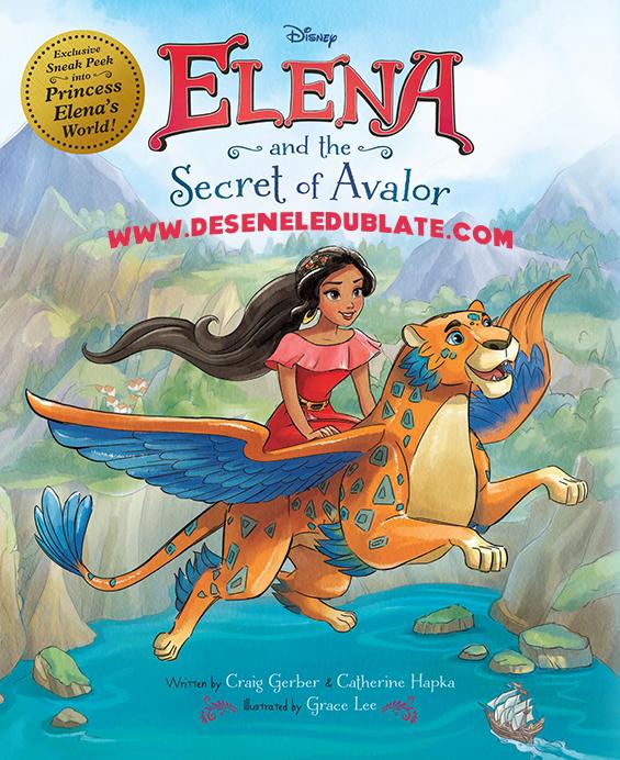 Elena și Secretul din Avalor (2016) dublat în română
