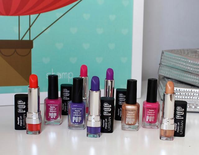 Esmaltes e Batons Panvel Makeup Urban Pop