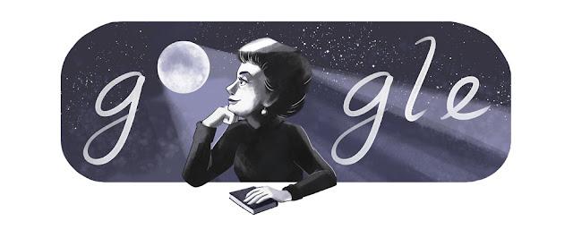 Rosario Castellanos' 91st birthday - Google Doodle