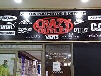 CRAZY OUTLET: liquida vestuario y calzado de marcas como Spalding, Adidas, Nike, Lotto, Ellus, Vans