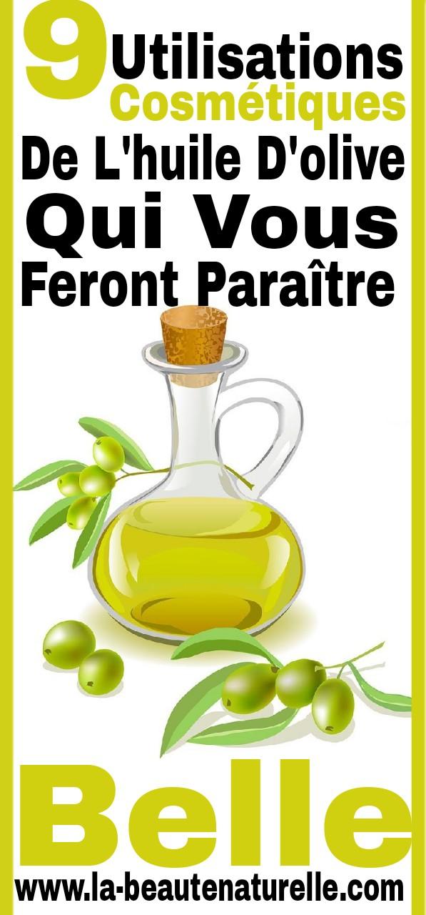 9 Utilisations cosmétiques de l'huile d'olive qui vous feront paraître belle