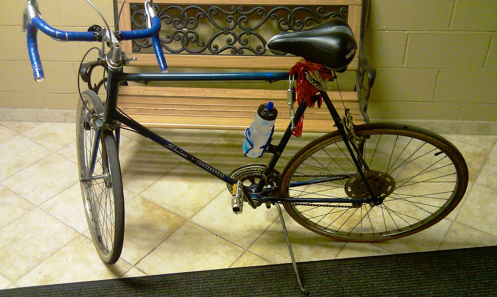 1975 Schwinn Continental Restoration Project: 1975 Schwinn