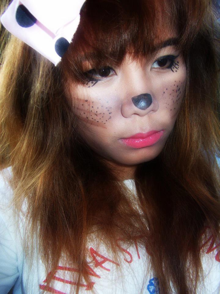 Halloween Makeup Collaboration (Animal Theme) : Cute Mouse