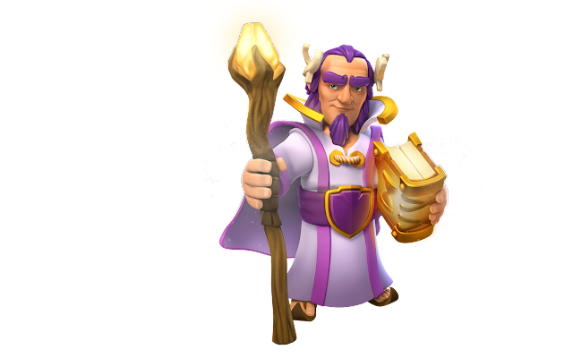 Grand Warden Full Stats, Upgrade Level, Elixer Training Cost in Clash of Clans