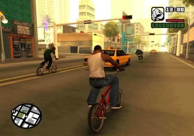 تحميل لعبة جاتا GTA san andreas للكمبيوتر برابط مباشر ميديا فاير