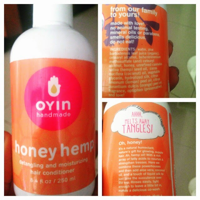 Leave-In Conditioners. 1) Oyin Handmade Honey Hemp (Purchase Online). I've been using this since my transition. I love it because it has honey in it, and honey is a great humectant — which means it attracts and locks in moisture.