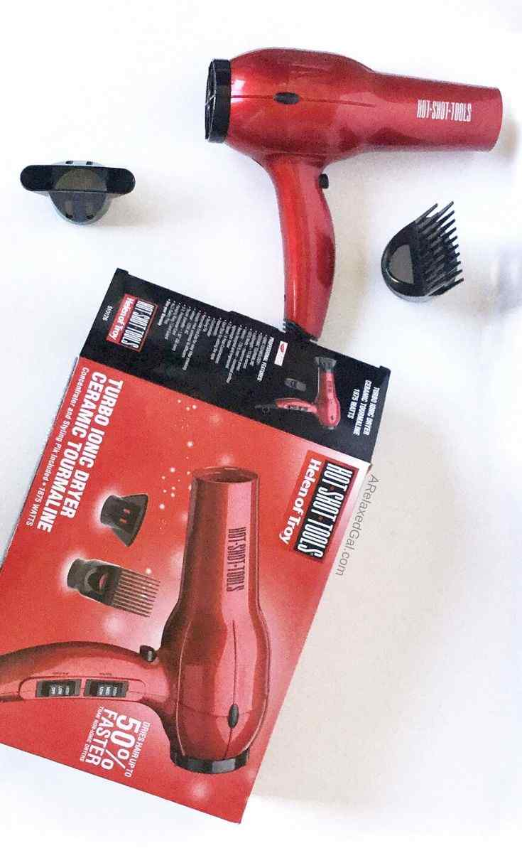 Helen Of Troy Hot Shot Tools Turbo Ionic Dryer | A Relaxed Gal