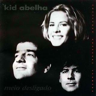 """Kid Abelha - Capa do disco """"Meio Desligado"""", de 1994"""