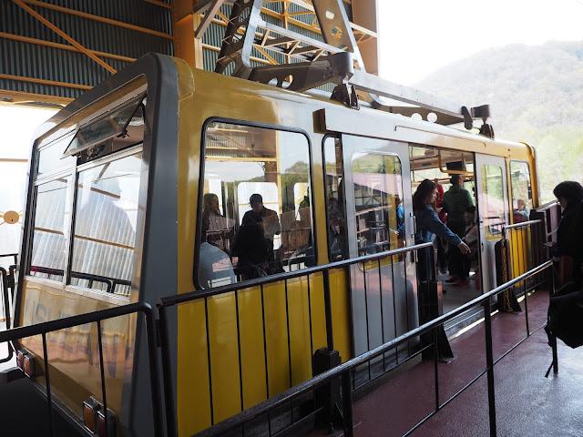 Usuzan gondola up to Mt. Usuzan
