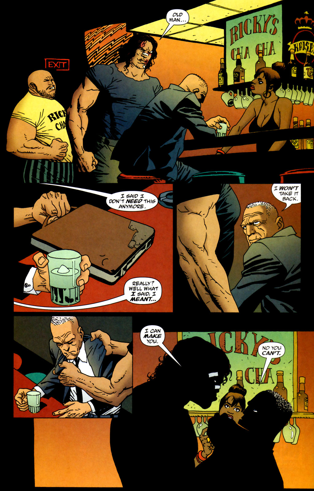 Read online 100 Bullets comic -  Issue #64 - 13