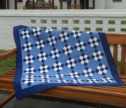 Little Boy Blue Baby Quilt Free Pattern