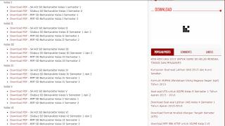 Kumpulan KI, KD, Silabus, RPP Kelas I, II, III, IV, V, VI Kurikulum 2013 SD