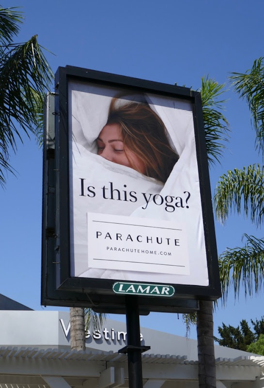 Is this yoga Parachute Home billboard