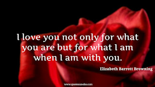 Love Quote by Elizabeth Barrett Browning