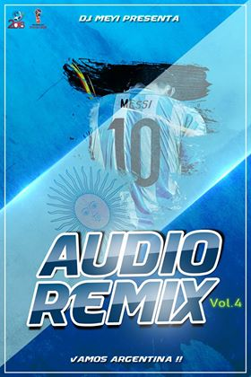 Audio remixes volumen 4 edicion 2018