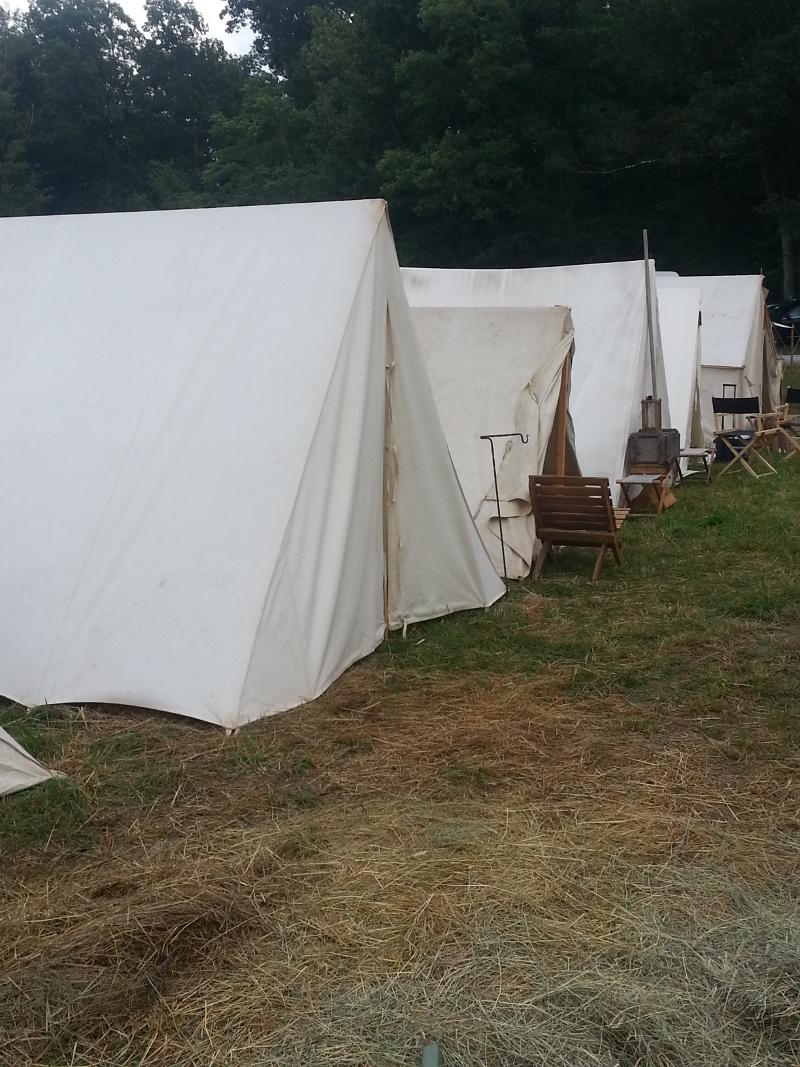 Western Fictioneers: Civil War Reenacting: Tents