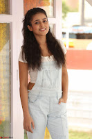 Mishti Chakraborty in lovely Jumpsuit and crop top at Wings Movie Makers Production No 1 movie launch ~  Exclusive 05.JPG