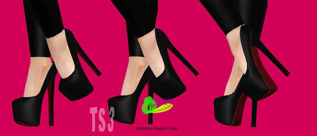 [YA/AF] Shoes %255BV%2529ART%2528G%255D%2Bremesh%2BChristianLouboutinDaffodile160mmPumps%2BV2.1
