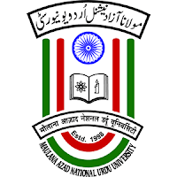 Maulana Azad National Urdu University, MANUU, Post Graduation, Telangana, freejobalert, Sarkari Naukri, Latest Jobs, Non-teaching, manuu logo