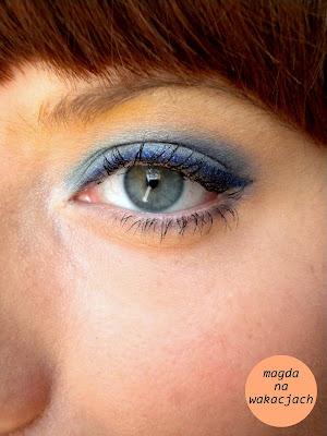 Magdanawakacjach Niebieski Makijaż Dla Niebieskich Oczu Tak Czy Nie
