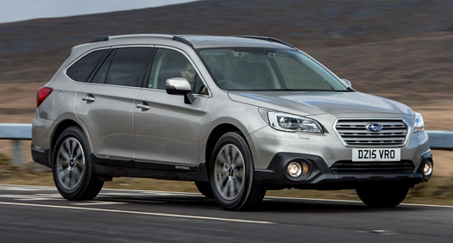 2017 Subaru Outback Changes