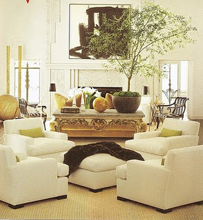 remarkable living room four chairs   Abby Manchesky Interiors: considering the four chair ...