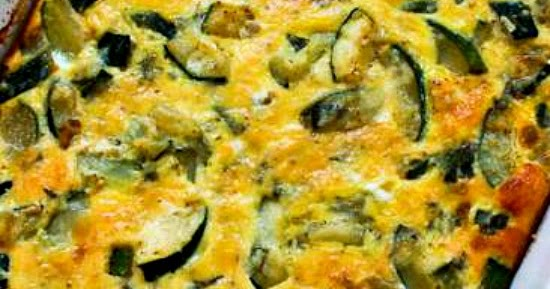 Kalyn's Kitchen®: Monster Zucchini and Basil Strata