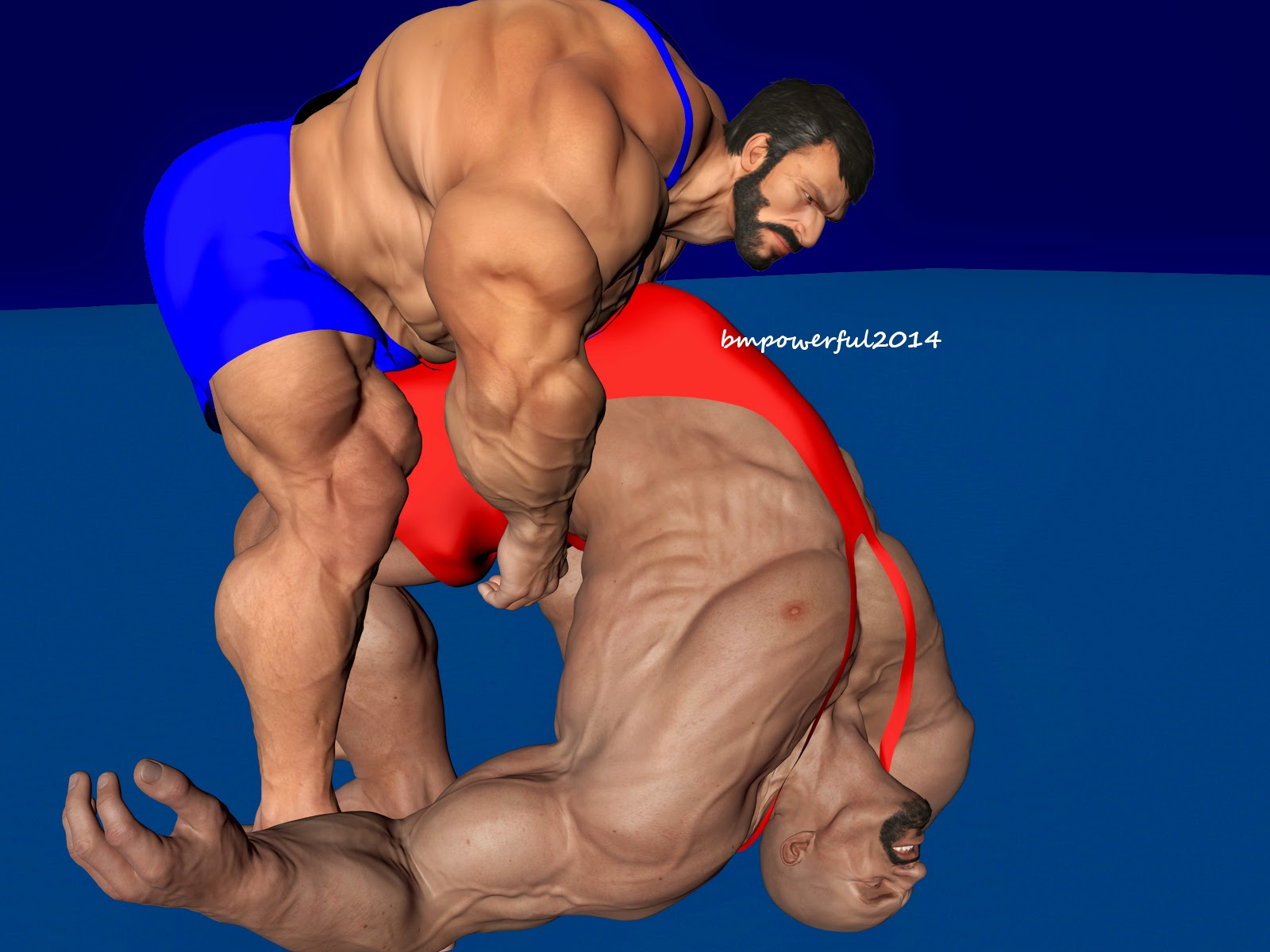 gay wrestling comic