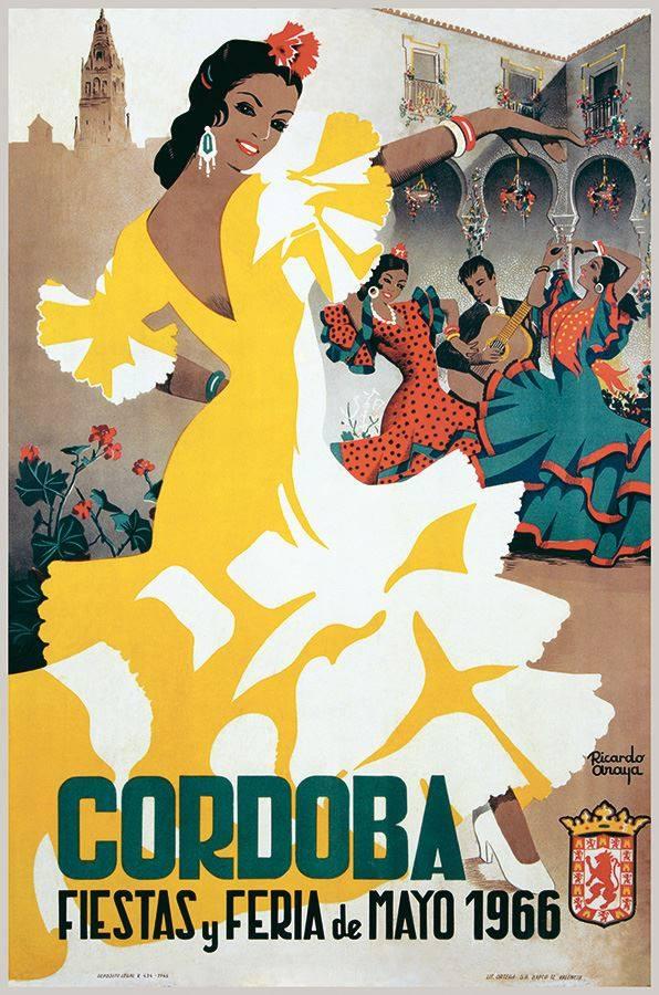 C rdoba en la mirada carteles de feria de c rdoba 1951 for Feria de artesanias cordoba 2016