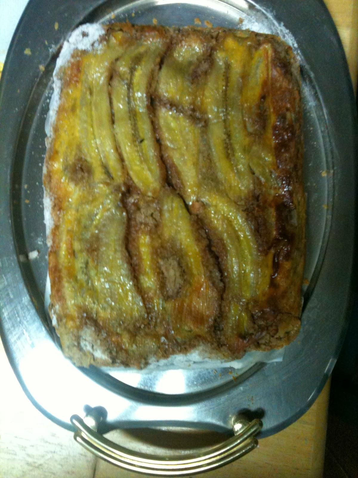 Torta de Banana Menu da Lady Culinária, receitas,