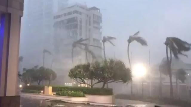 El huracán María deja destrucción en su paso por Puerto Rico