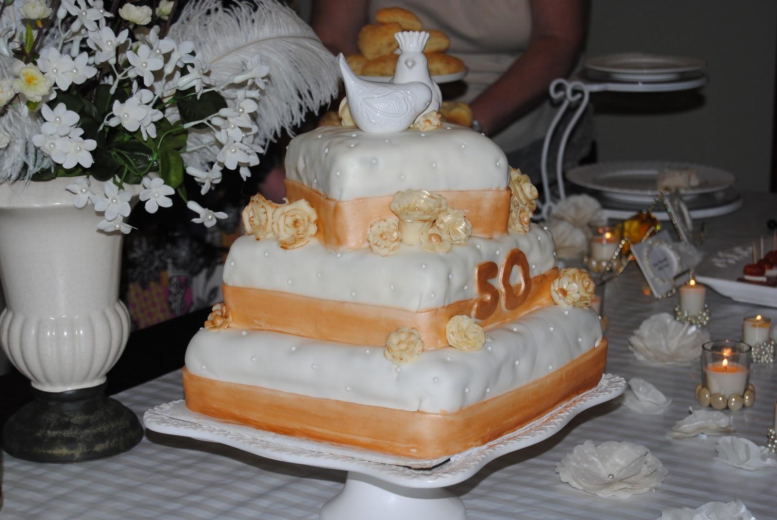 The Sugar Free Wedding Cake 50th Anniversary