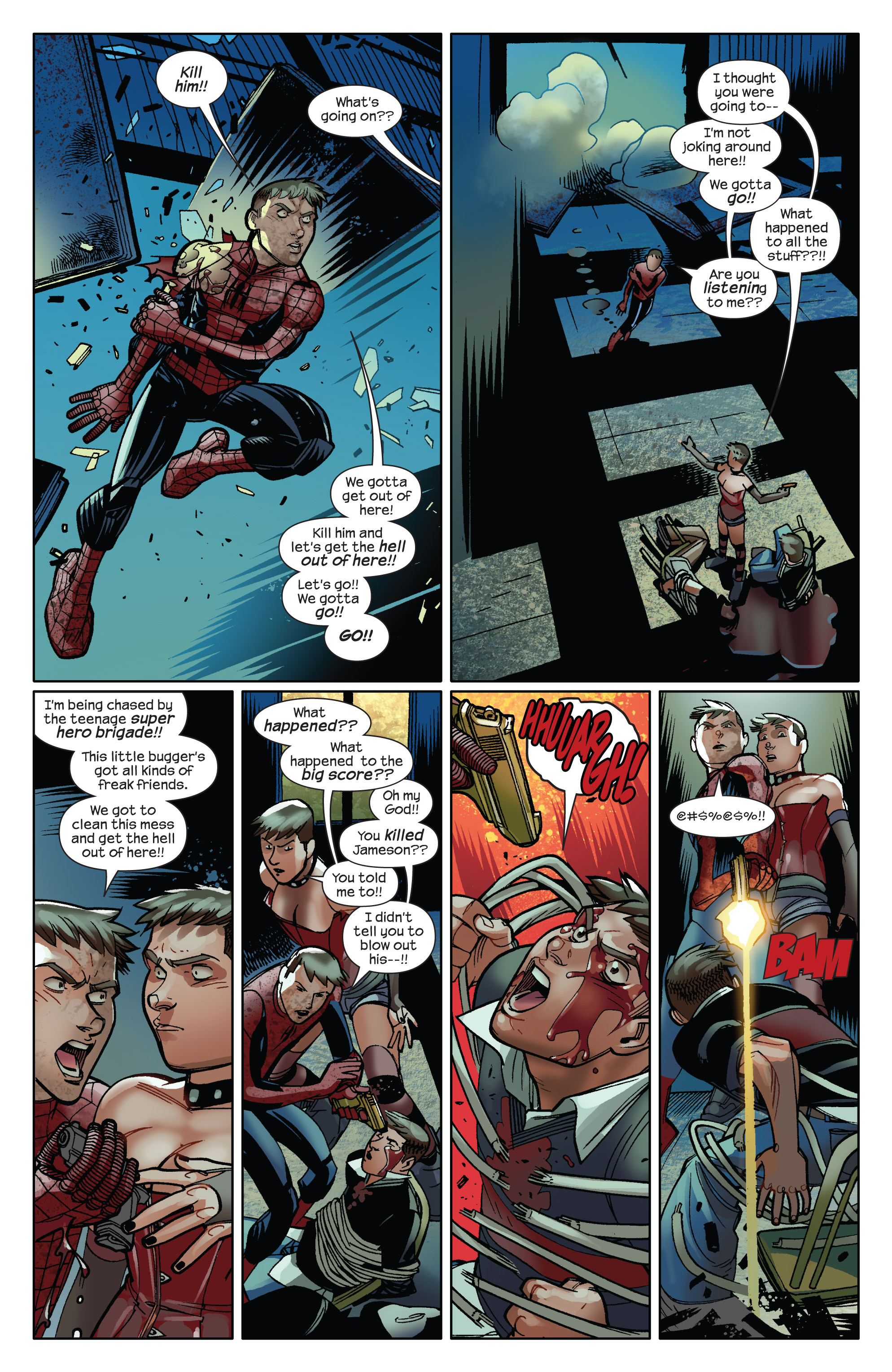 Read online Ultimate Spider-Man (2009) comic -  Issue #14 - 12
