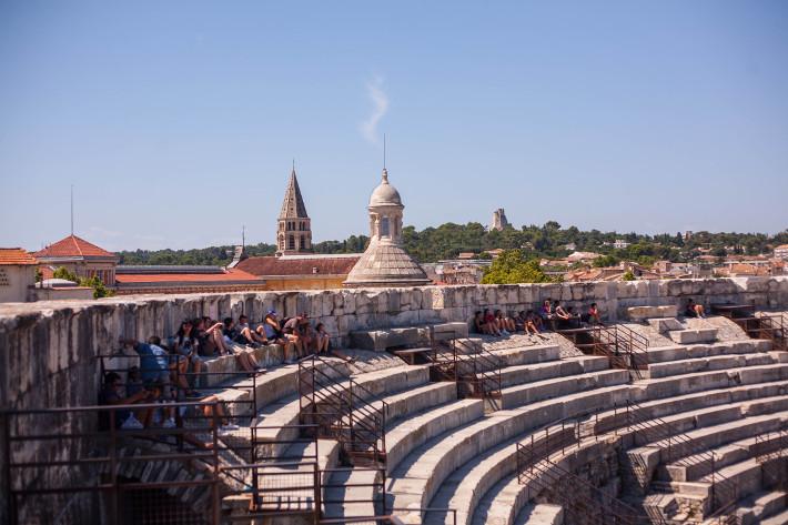 Nimes Roman arena