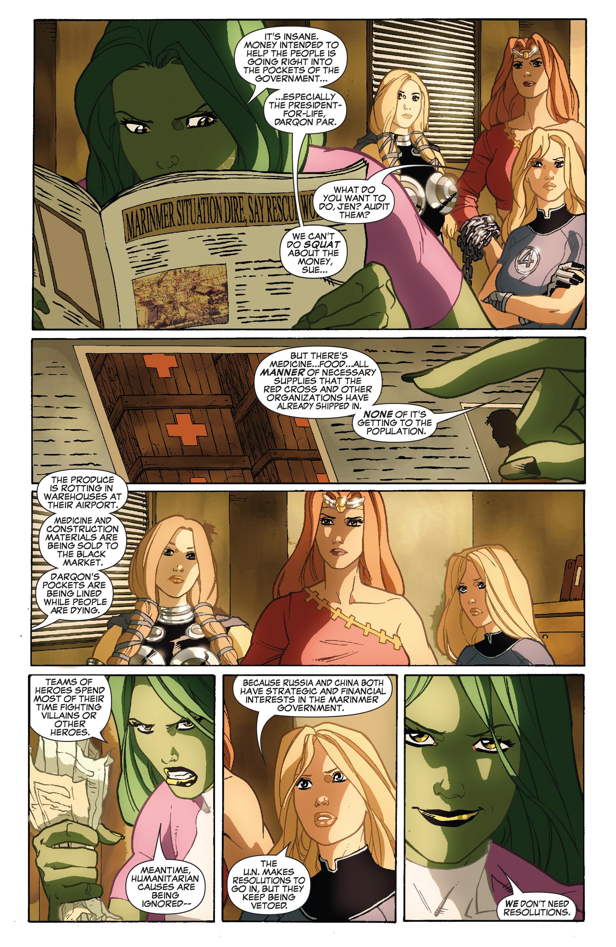 Read online She-Hulk (2005) comic -  Issue #34 - 14