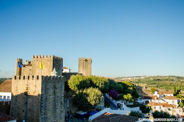 Castillos-de-Portugal, Óbidos y su castillo