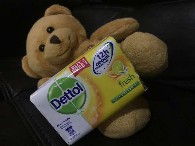 dettol, produk menyegarkan bau badan, dettol fresh, pilihan ibu terbaik