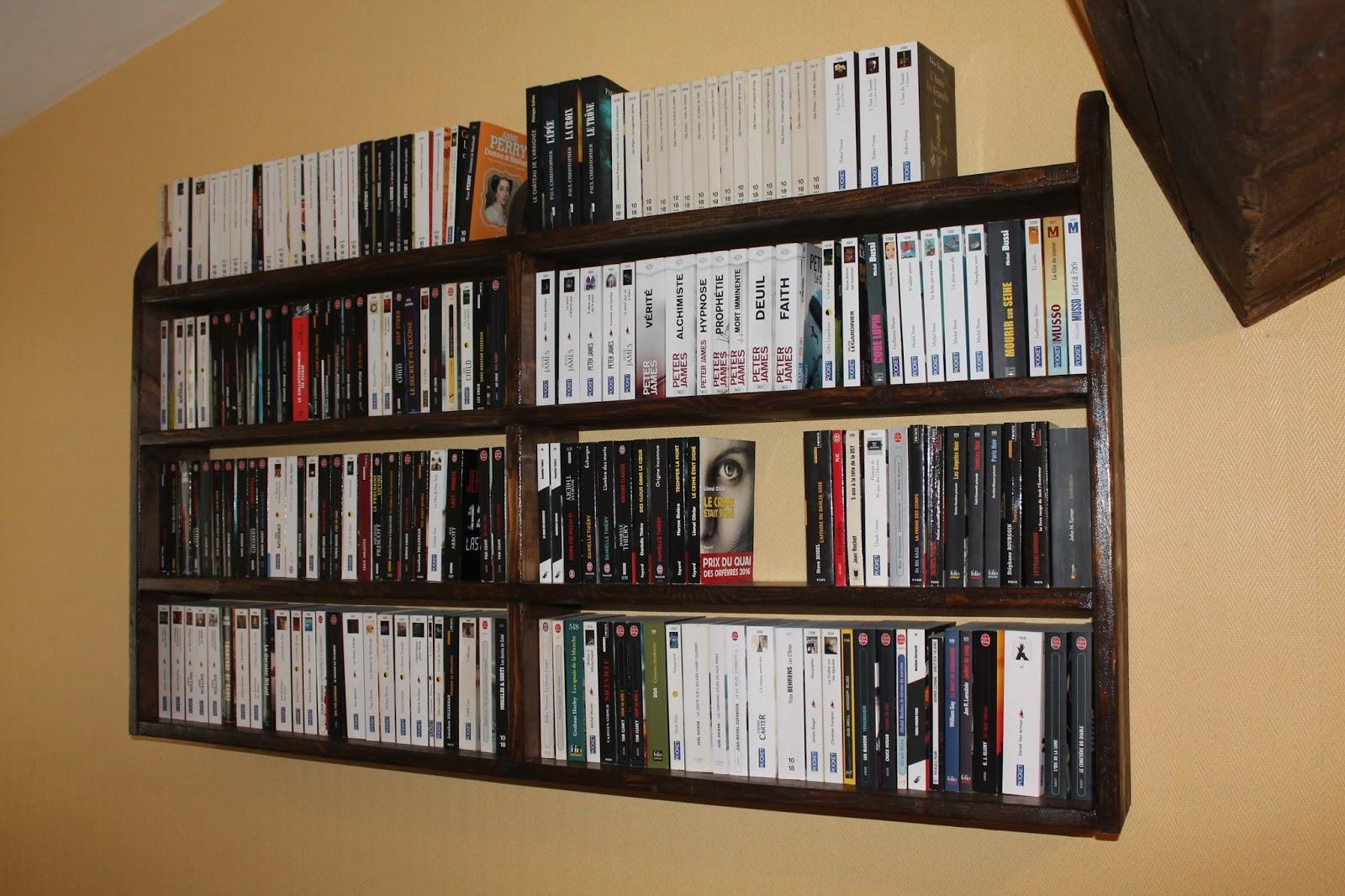 livres de poche pocket book shelf