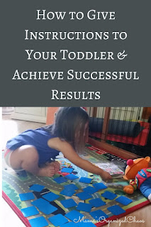 How to Give Instructions to Your Toddler & Achieve Successful Results by Katrina