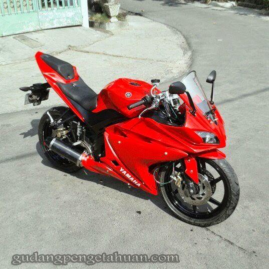 Yamaha Vixion Modif Full Fairing R125 By Garage Modification