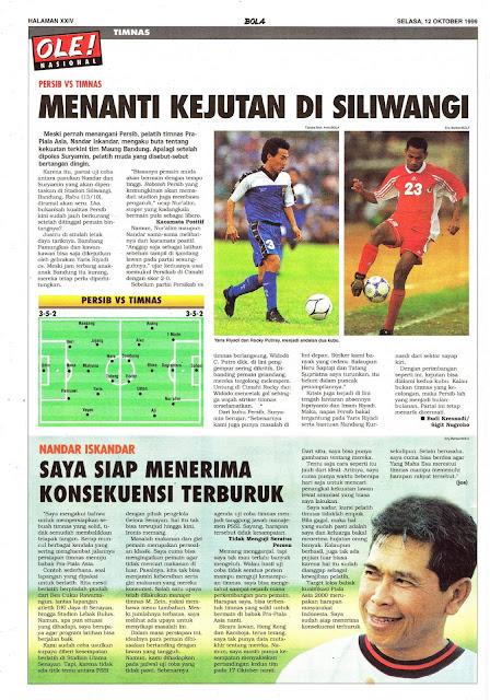 PERSIB VS TIMNAS INDONESIA DI SILIWANGI