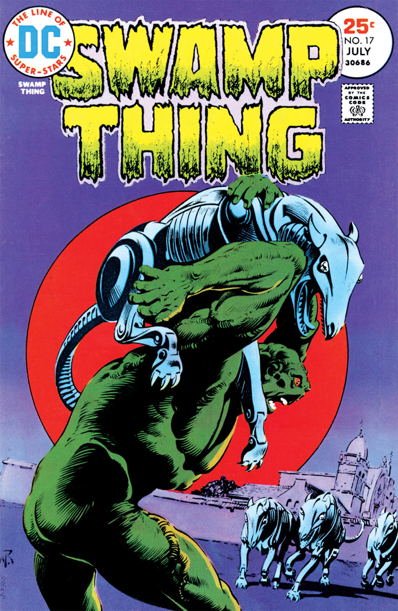 Swamp Thing (1972) Issue #17 #17 - English 1