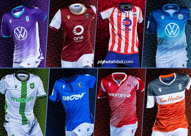 Macron Canadian Premier League 2020 Home Kits Released Better Than Adidas Mls Jerseys Footy Headlines