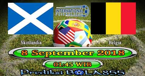 Prediksi Bola855 Scotland vs Belgium 8 September 2018