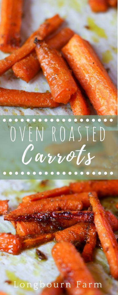 Oven roasted carrots are delicious and super quick and easy to make. An amazing side dish the whole family will love, maximum flavor with minimal effort!