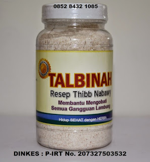 Obat maag akut kronis anak dewasa bubur talbinah alami herbal tradisional