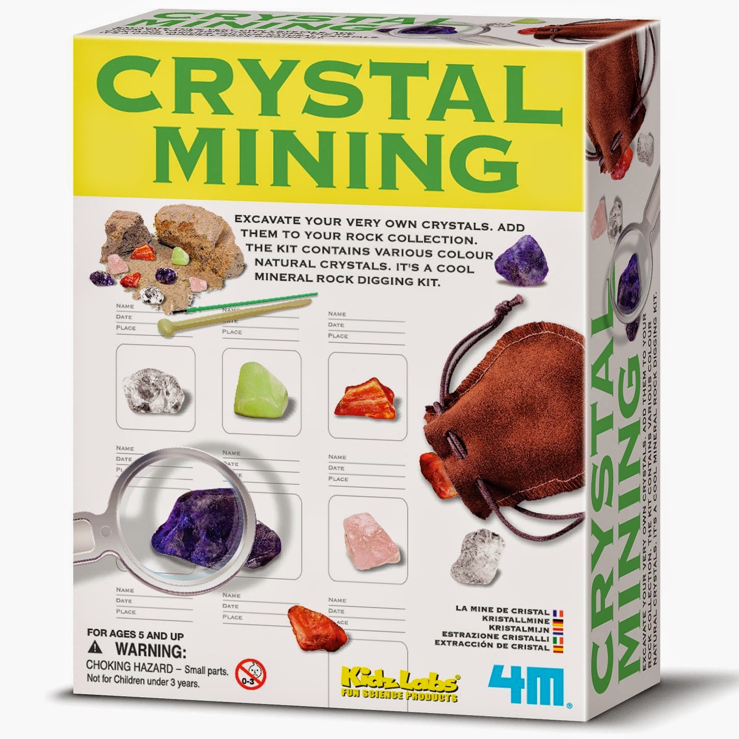 4M Crystal Mining Kit Review