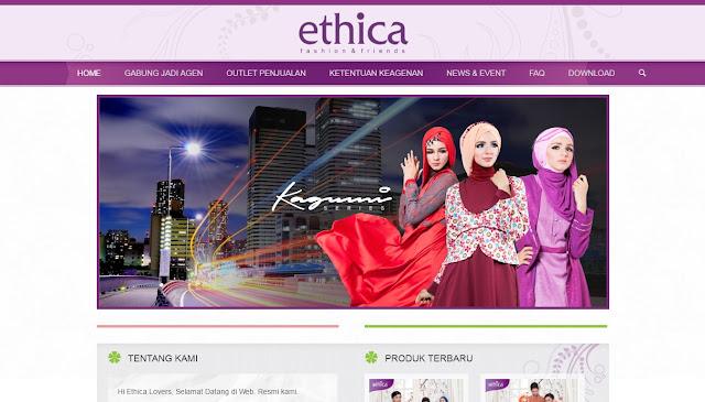 ethica website produk muslim