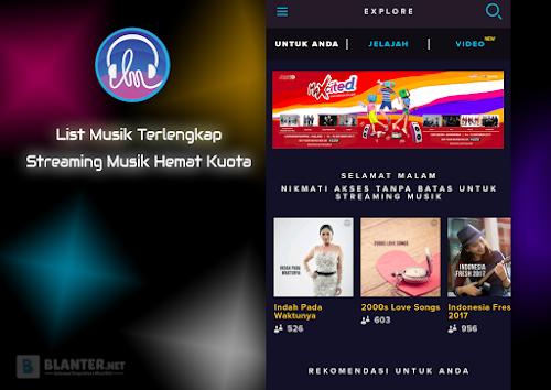 Terlengkap, Streaming Musik Hemat Kuota