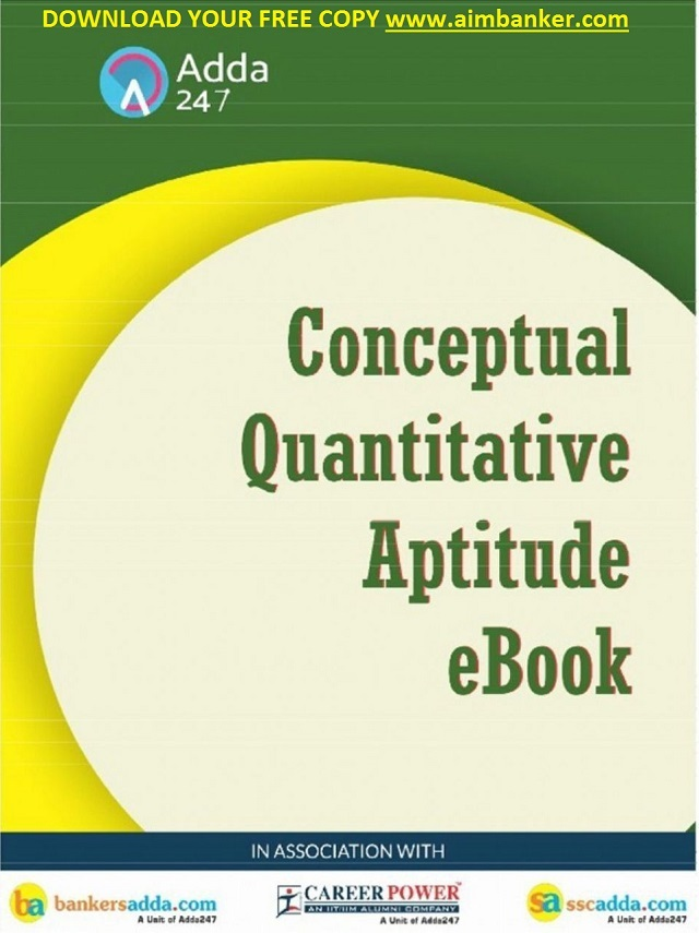 Quantitative Aptitude Pdf For Bank Exams